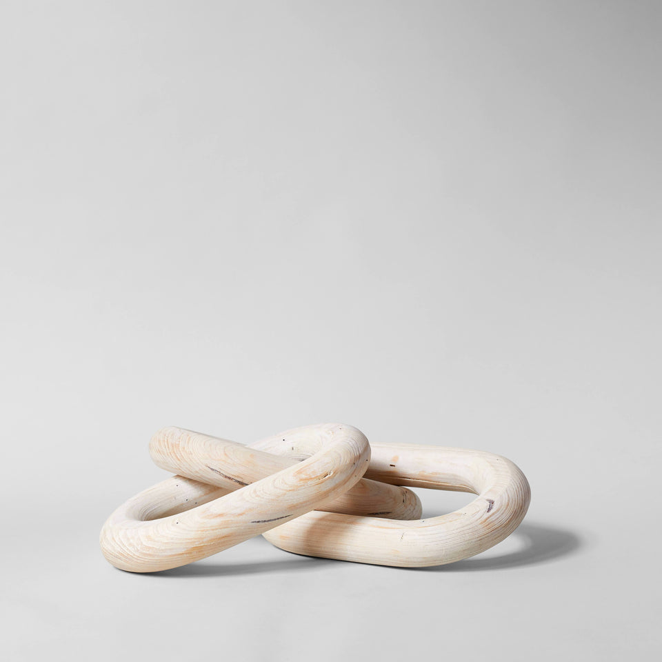 Pale Wood Chain, Large Link