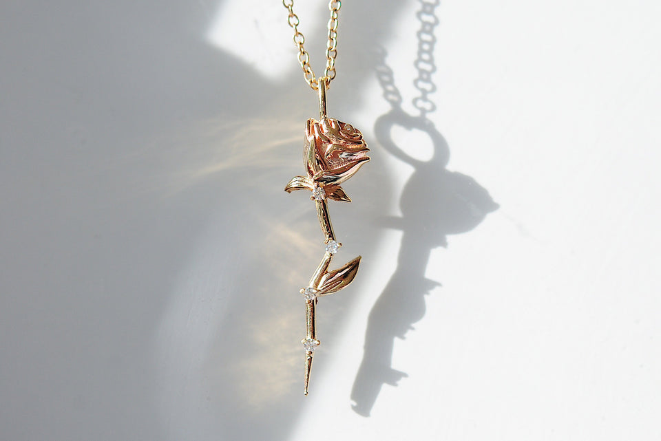 Celestial Rose Necklace