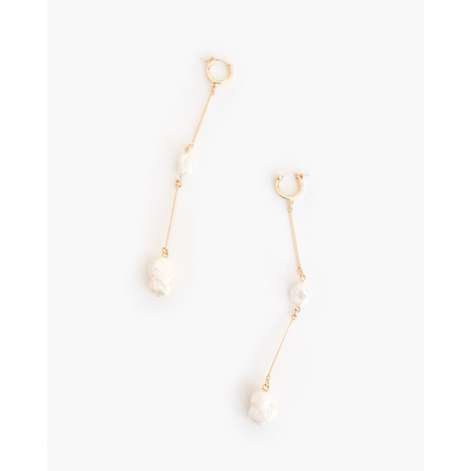Double-Jointed Drop Earrings