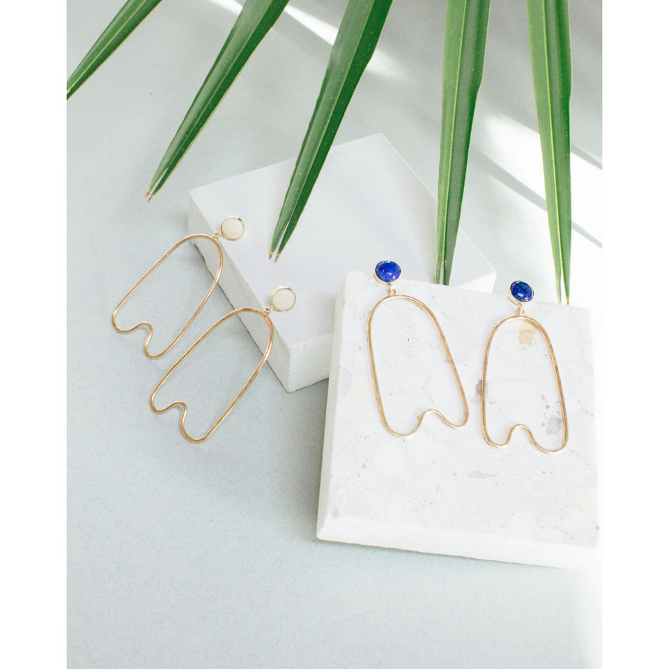 Boulder Earrings