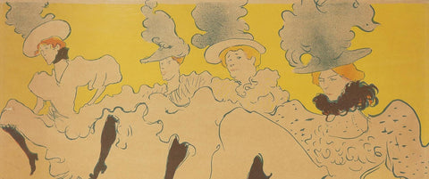 Toulouse-Lautrec and the Masters of Montmartre at The Victoria Art Gallery