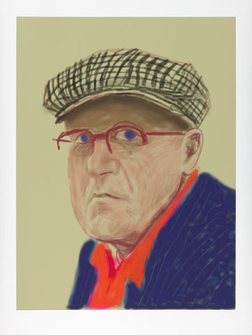 David Hockney: Drawing from Life at National Portrait Gallery