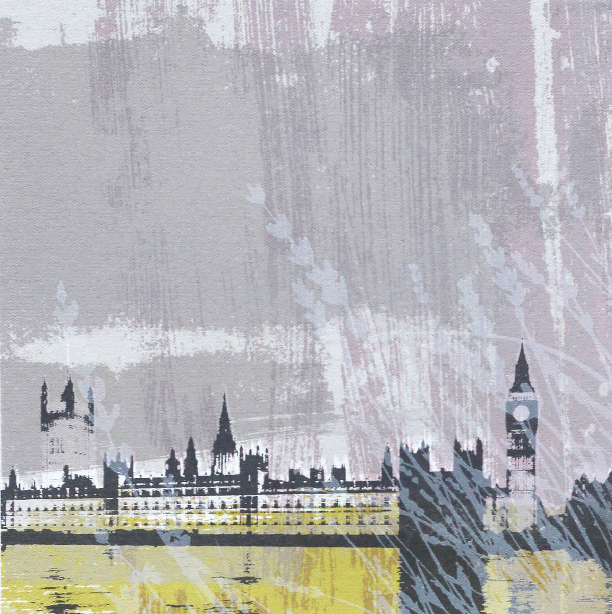 Helen Bridges Big Ben for Modern ArtBuyer