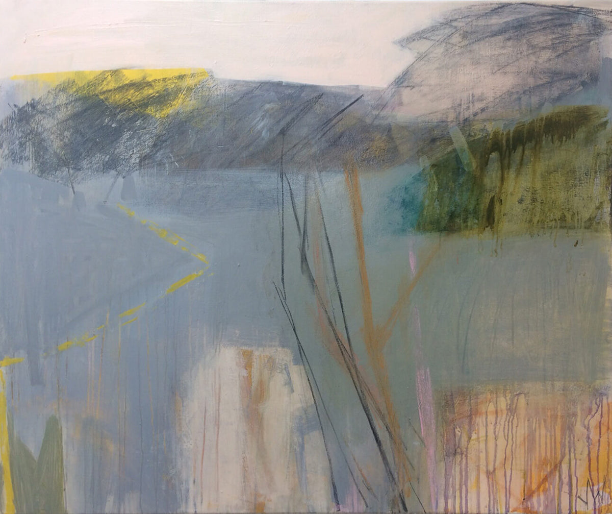 Julia Wilson Edging Green May for Modern ArtBuyer