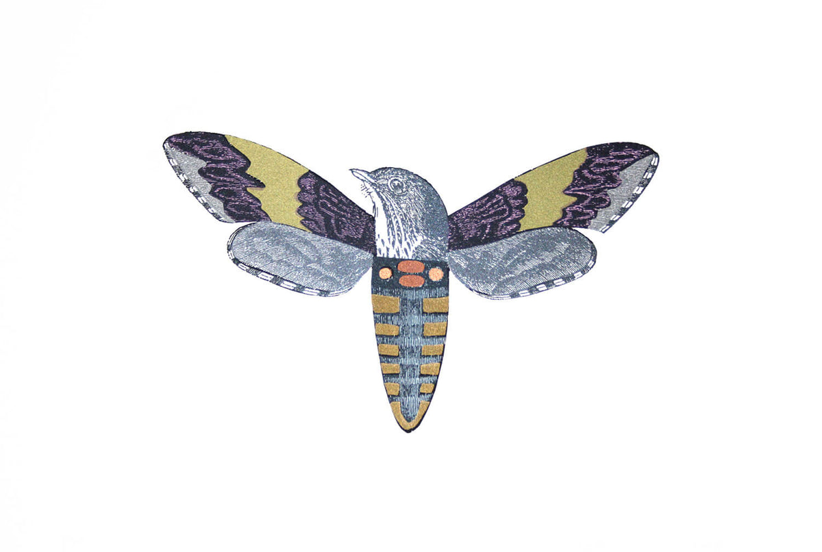 Penelope Kenny Moth-bird 2 - Modern ArtBuyer
