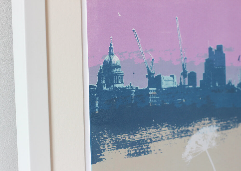 Helen Bridges Thames View 2 for Modern ArtBuyer