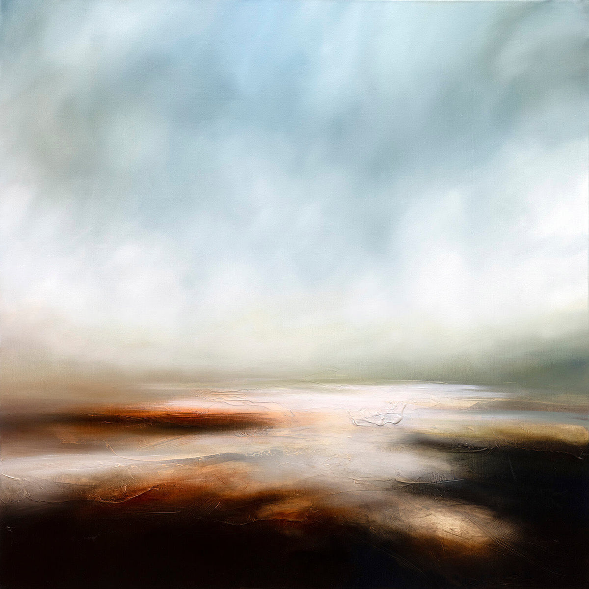 Paul Bennett : The Rise of the Morning Mists - Modern ArtBuyer