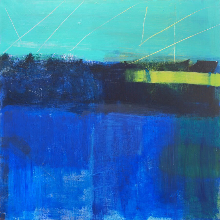 Julia Wilson Track blue for Modern ArtBuyer