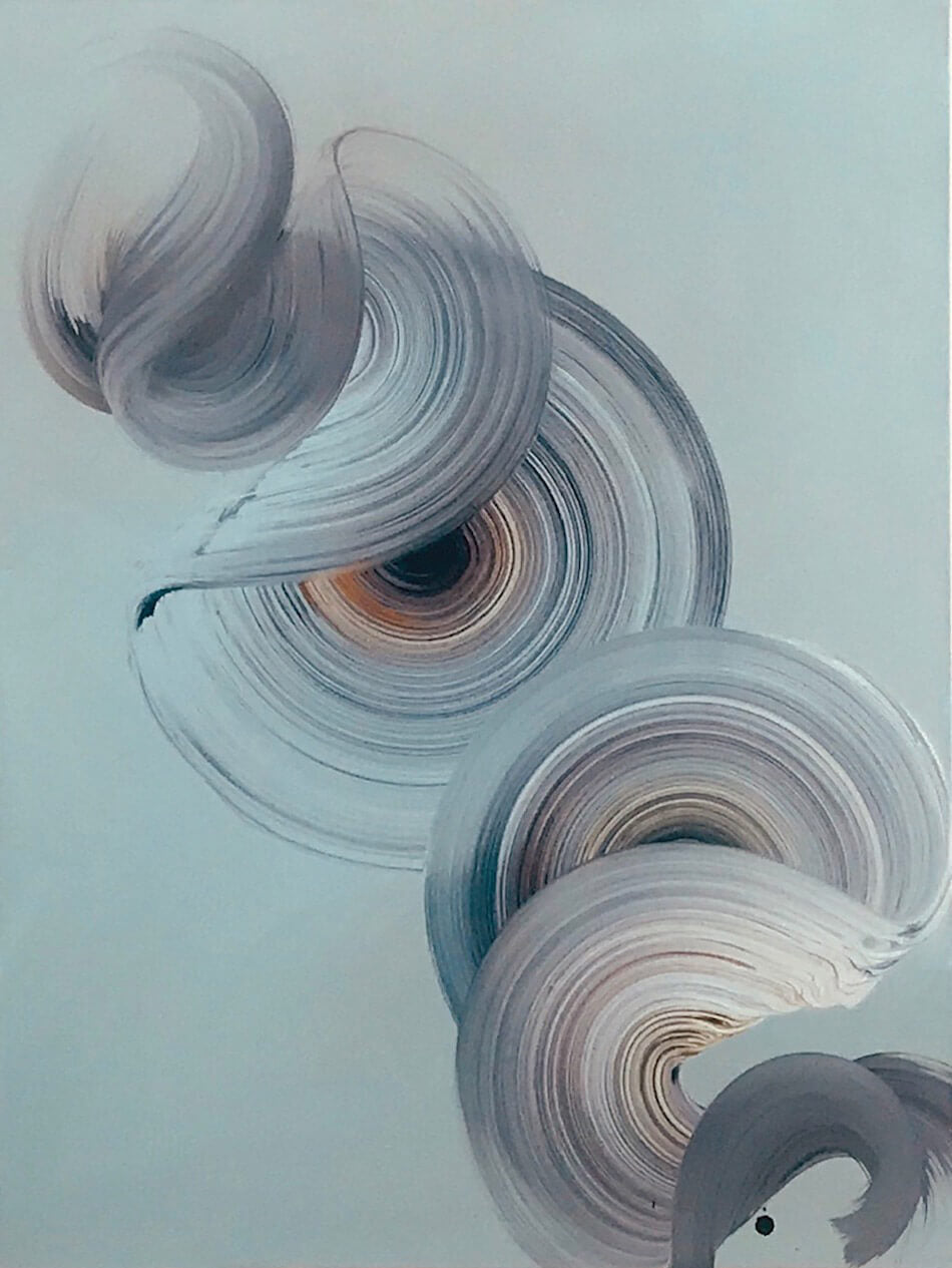 Dragica Carlin Two Swirls for Modern ArtBuyer