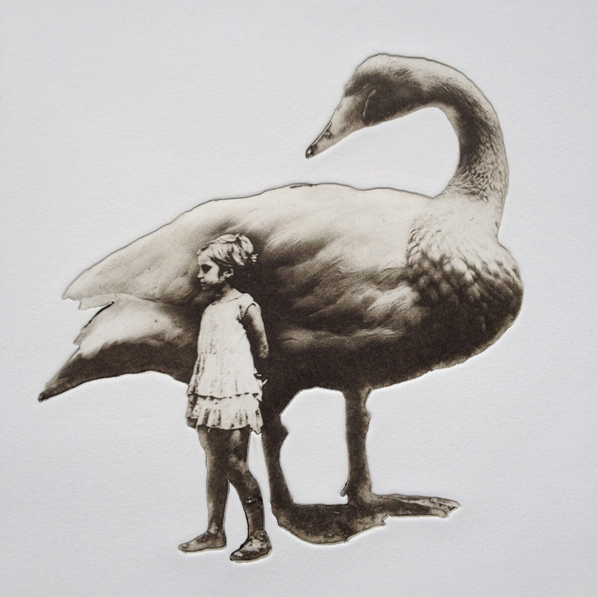 Girl and Swan No. 2