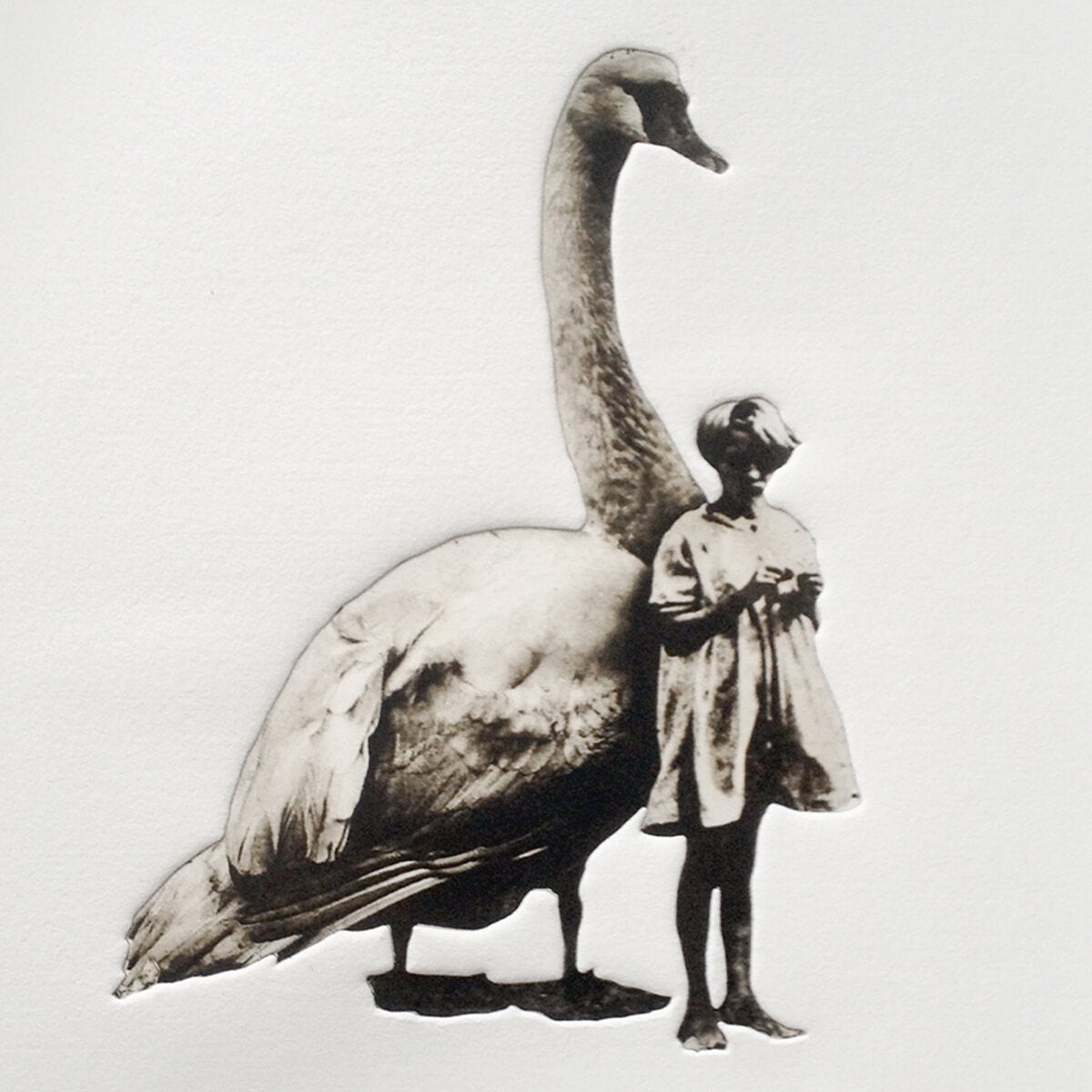 Girl and Swan No. 3