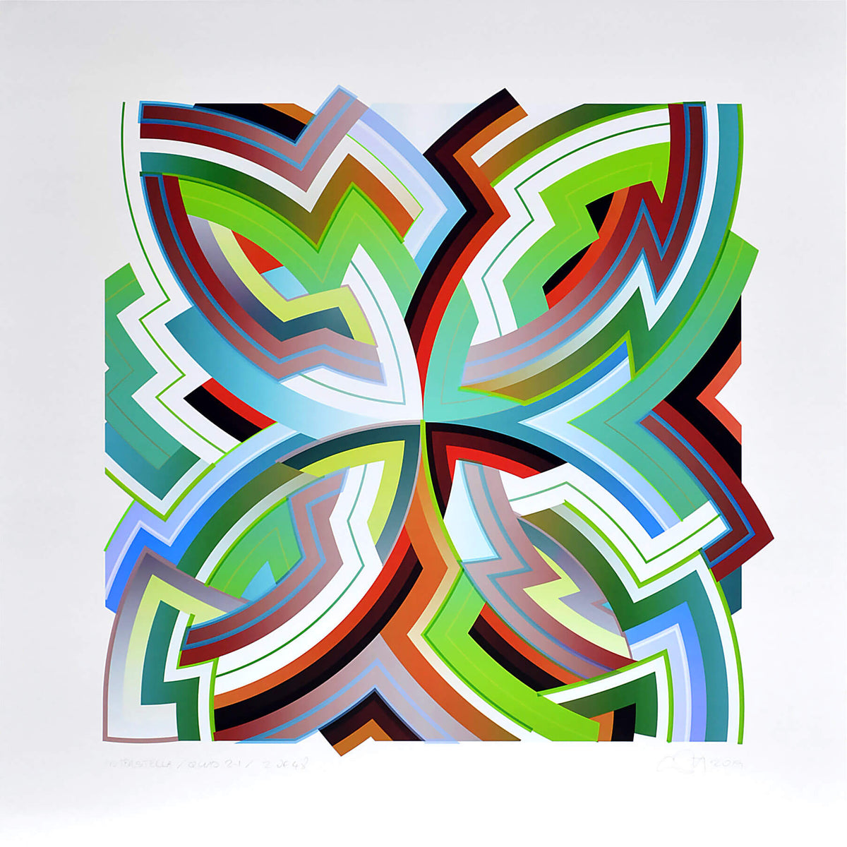 Chuck Elliott : InterStella / Quad 2.1 - Modern ArtBuyer