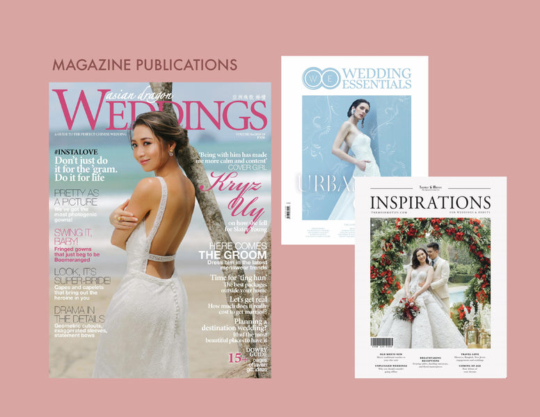 OUR MARKETING FEATURES - BRIDE AND ROSE