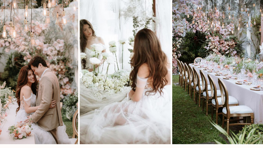From Dressing Up Brides to Being the Bride: Patricia Santos of PS OFFICIEL is now married!