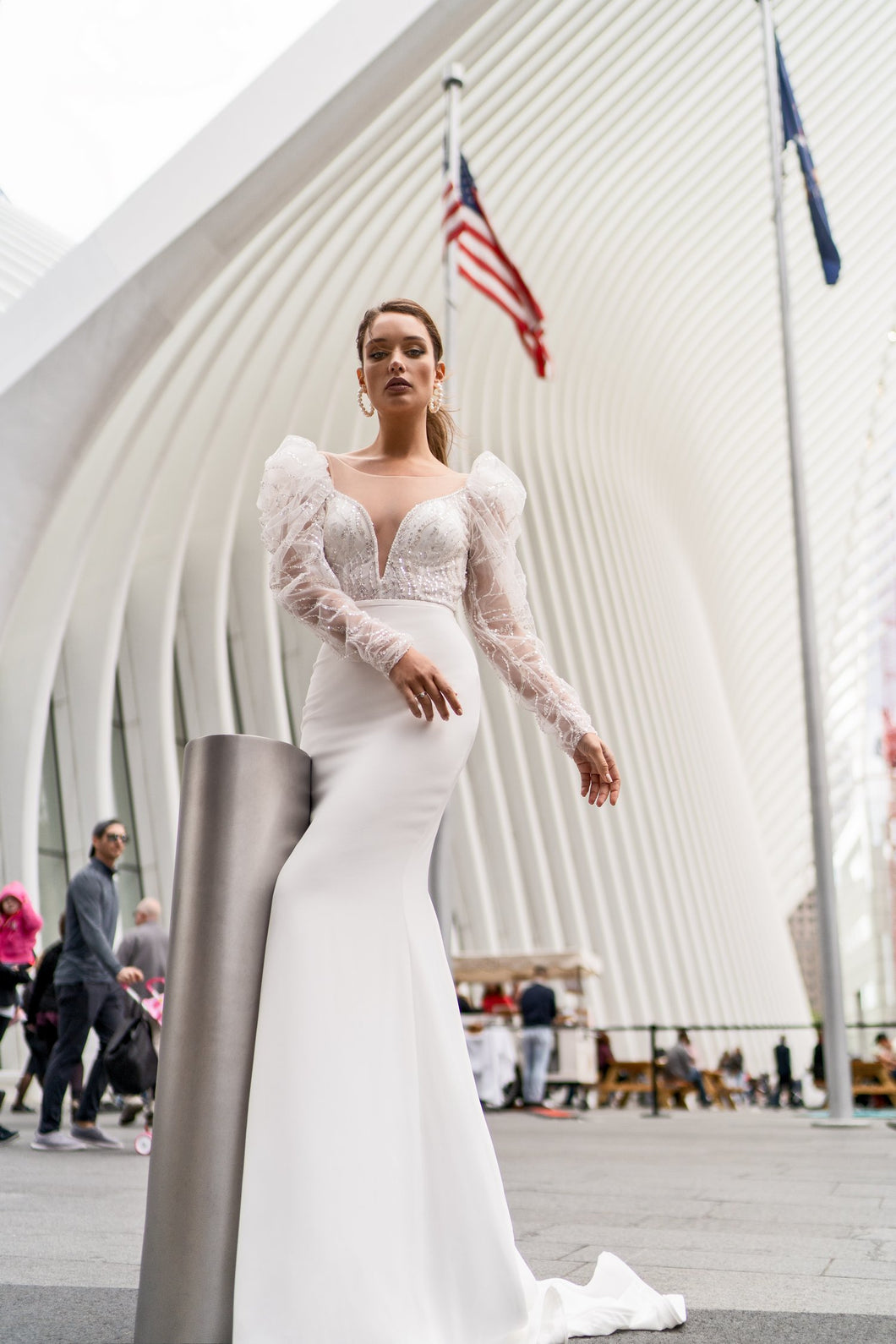NYC 'Bonnie' Elly Haute Couture RTW 063-480 Ready To Wear European Bridal Wedding Gown Designer Philippines