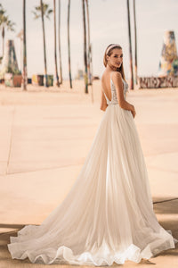 Los Angeles 'Keira' Elly Haute Couture RTW 066-325 Ready To Wear European Bridal Wedding Gown Designer Philippines