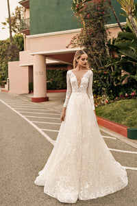 Los Angeles 'Kristen' Elly Haute Couture RTW 067-435 Ready To Wear European Bridal Wedding Gown Designer Philippines