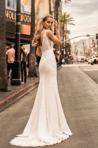 Los Angeles 'Heather' Elly Haute Couture RTW 078-370 Ready To Wear European Bridal Wedding Gown Designer Philippines