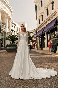 Los Angeles 'Audrey' Elly Haute Couture RTW 082-365 Ready To Wear European Bridal Wedding Gown Designer Philippines