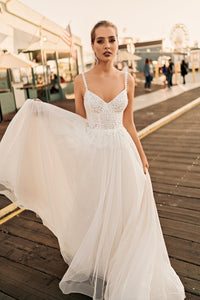 Los Angeles 'Rachel' Elly Haute Couture RTW 090-390 Ready To Wear European Bridal Wedding Gown Designer Philippines