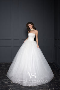 Chic Royal Collection 'Carolina' Victoria Soprano RTW 21719-350 Ready To Wear European Bridal Wedding Gown Designer Philippines