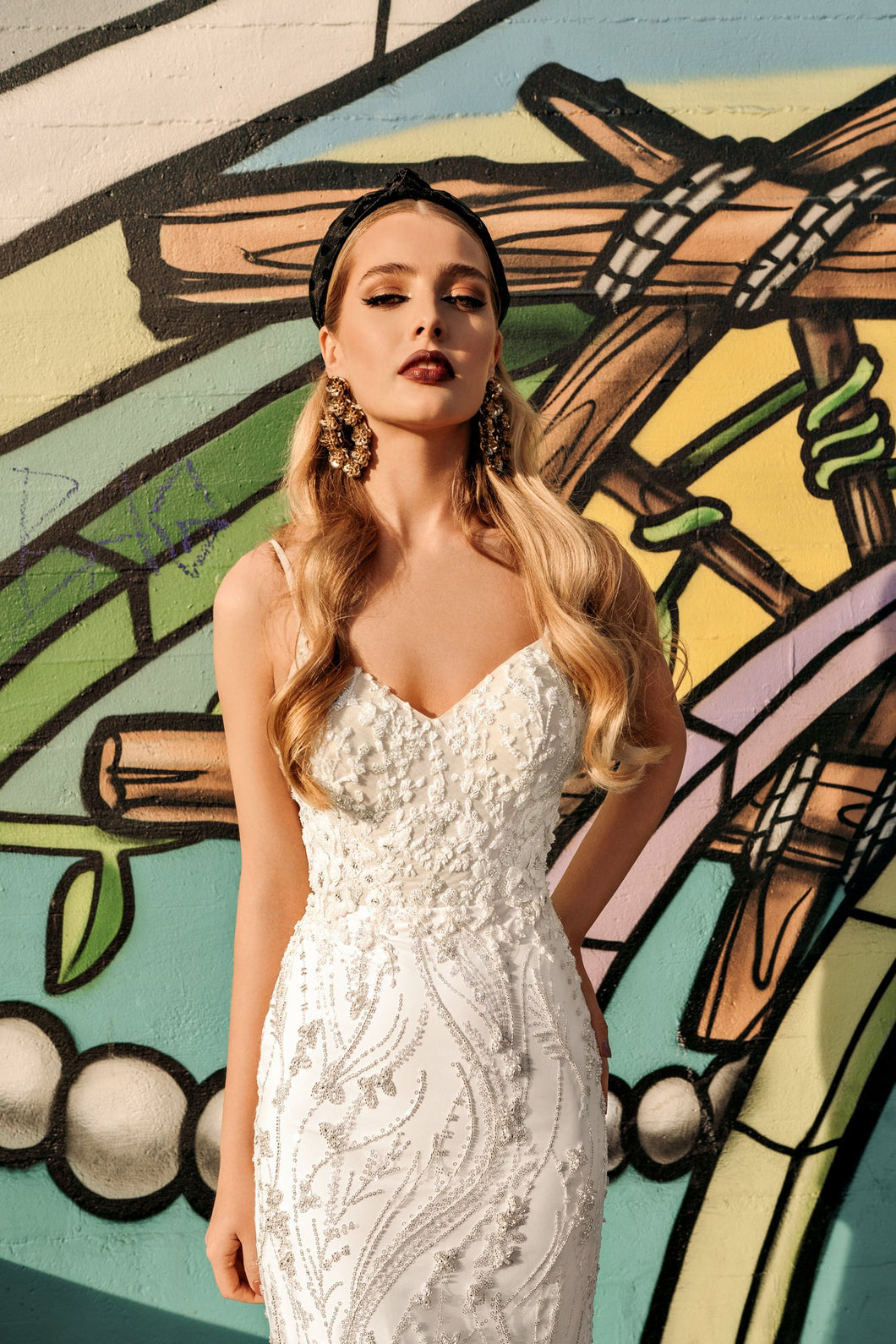 Los Angeles 'Ingrid' Elly Haute Couture RTW 100-460 Ready To Wear European Bridal Wedding Gown Designer Philippines