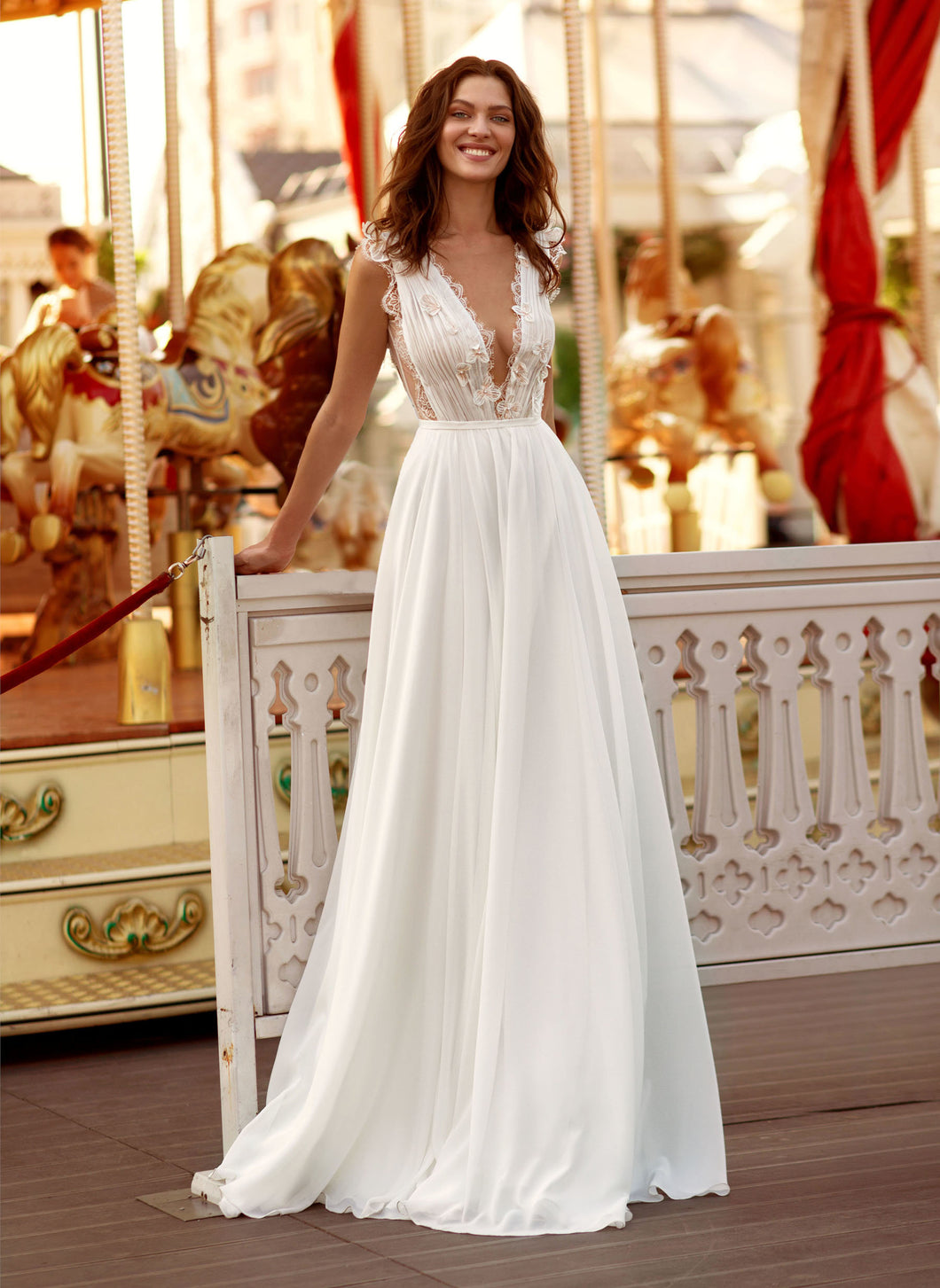 Cosmopolitan City  Papilio Bridal RTW 11938-180 Ready To Wear European Bridal Wedding Gown Designer Philippines
