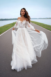 Freedom Papilio Bridal RTW 12060-180 Ready To Wear European Bridal Wedding Gown Designer Philippines