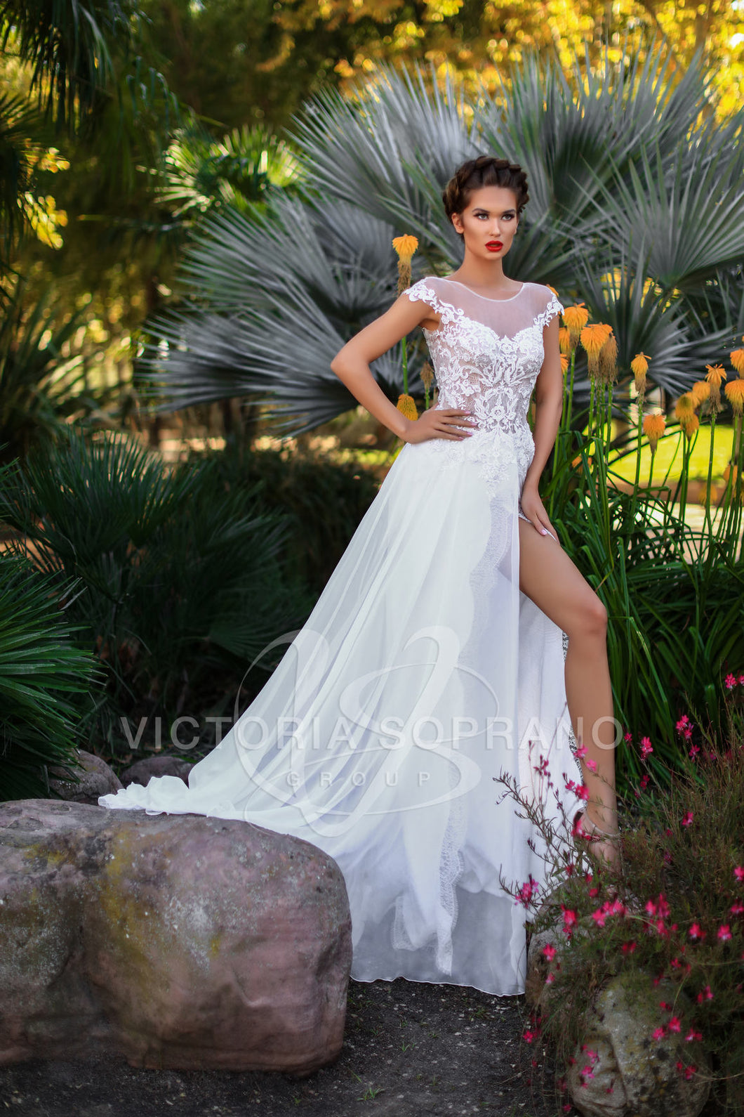 The One Collection 'Celine' Victoria Soprano RTW 16318-316 Ready To Wear European Bridal Wedding Gown Designer Philippines