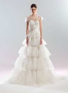 White Wind 'May-lily' Papilio Bridal RTW 1906L-360 Ready To Wear European Bridal Wedding Gown Designer Philippines