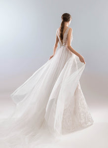 White Wind 'Ehmeya' Papilio Bridal RTW 1923-360 Ready To Wear European Bridal Wedding Gown Designer Philippines