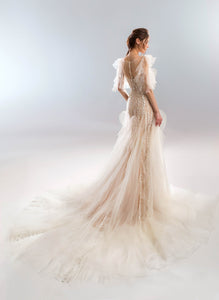 White Wind 'Vortex' Papilio Bridal RTW 1931L-365 Ready To Wear European Bridal Wedding Gown Designer Philippines