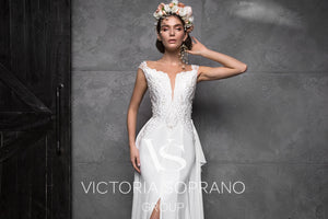 Chic Royal Collection 'Eleonor' Victoria Soprano RTW 21319-323 Ready To Wear European Bridal Wedding Gown Designer Philippines