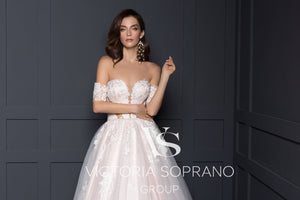 Chic Royal Collection 'Ester' Victoria Soprano RTW 21419-335 Ready To Wear European Bridal Wedding Gown Designer Philippines