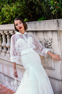 Ma Cherie 'Rebeca' Katherine Joyce Paris RTW 15118-434 Ready To Wear European Bridal Wedding Gown Designer Philippines