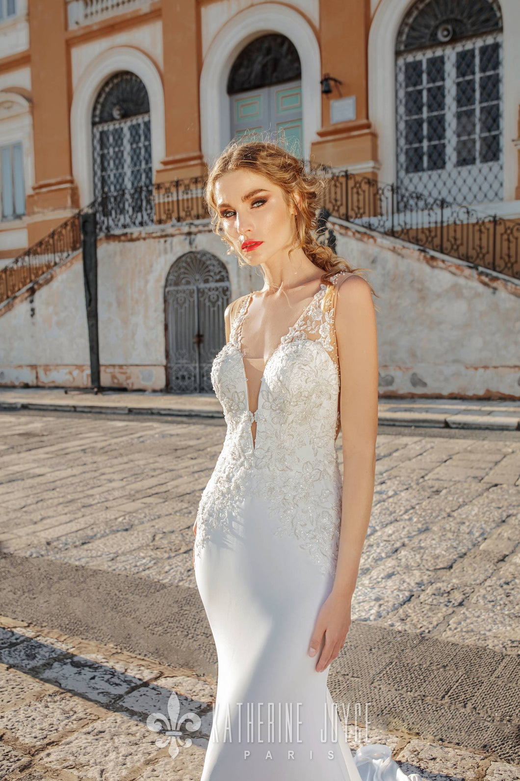 Napoli 'Louse' Katherine Joyce Paris RTW 16038-320 Ready To Wear European Bridal Wedding Gown Designer Philippines