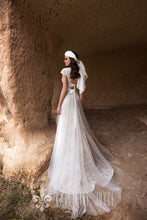 Load image into Gallery viewer, Wind Desert 'Agriates' Katherine Joyce Paris RTW T 214-293 Ready To Wear European Bridal Wedding Gown Designer Philippines
