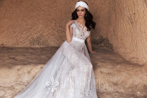 Wind Desert 'Agriates' Katherine Joyce Paris RTW T 214-293 Ready To Wear European Bridal Wedding Gown Designer Philippines