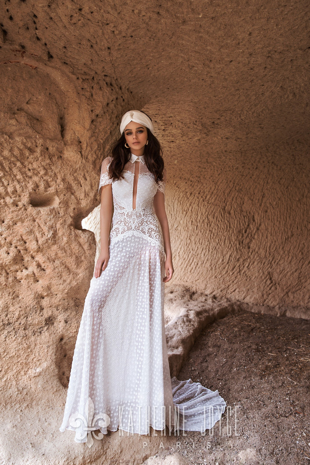 Wind Desert 'Bikum' Katherine Joyce Paris RTW T 213-209 Ready To Wear European Bridal Wedding Gown Designer Philippines