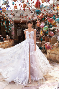 Wind Desert 'Dechna' Katherine Joyce Paris RTW O 06-363 Ready To Wear European Bridal Wedding Gown Designer Philippines