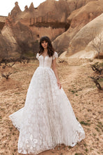 Load image into Gallery viewer, Wind Desert 'Lukum' Katherine Joyce Paris RTW O 02-280 Ready To Wear European Bridal Wedding Gown Designer Philippines