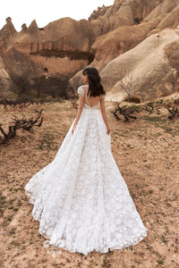 Wind Desert 'Lukum' Katherine Joyce Paris RTW O 02-280 Ready To Wear European Bridal Wedding Gown Designer Philippines