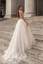 Load image into Gallery viewer, Muse in Naples 'Calipso' Katherine Joyce Paris RTW 05201-340 Ready To Wear European Bridal Wedding Gown Designer Philippines