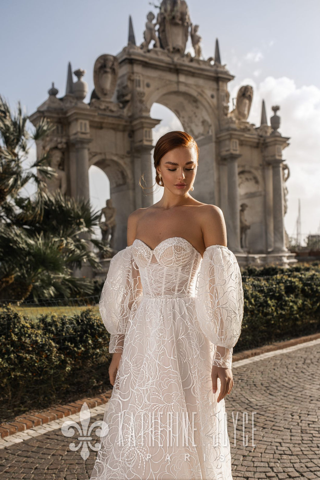 Muse in Naples 'Elizabet' Katherine Joyce Paris RTW 11201-450 Ready To Wear European Bridal Wedding Gown Designer Philippines