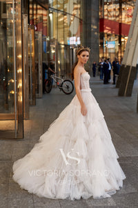 Star of Milan 'Elsa' Victoria Soprano RTW 22220-345 Ready To Wear European Bridal Wedding Gown Designer Philippines