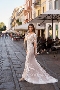 Star of Milan 'Astar' Victoria Soprano RTW 23820-255 Ready To Wear European Bridal Wedding Gown Designer Philippines