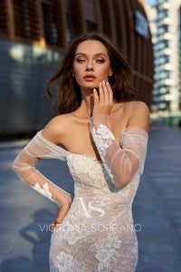 Star of Milan 'Shaina' Victoria Soprano RTW 24020-365 Ready To Wear European Bridal Wedding Gown Designer Philippines