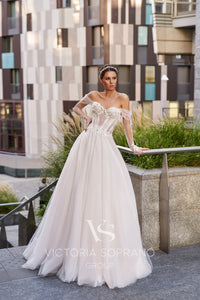 Star of Milan 'Kristi' Victoria Soprano RTW 24620-250 Ready To Wear European Bridal Wedding Gown Designer Philippines