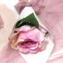 Load image into Gallery viewer, Gift for HER 1pc Silk Ecuador Rose in Wrap