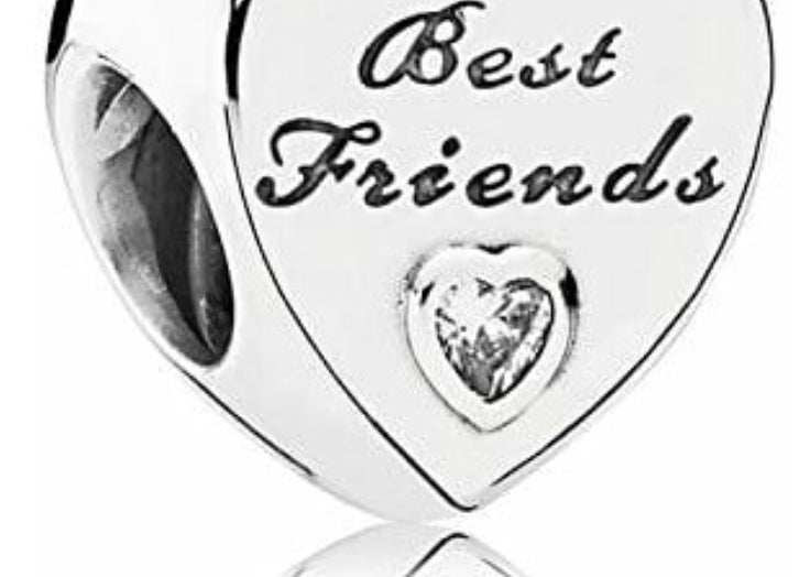 Best friends Pandora charm 92.5 Italy silver